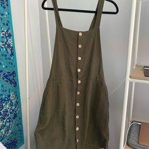 Kaki dress from garage.